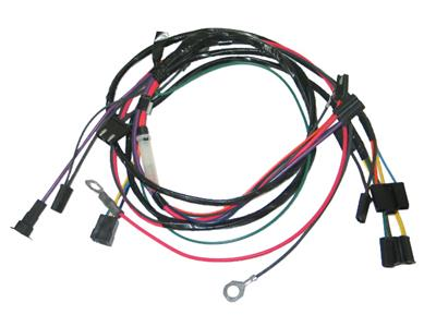 66 Air Conditioning Wire Harness - All Includes Heater Wire Air Conditioner Wire Harness on